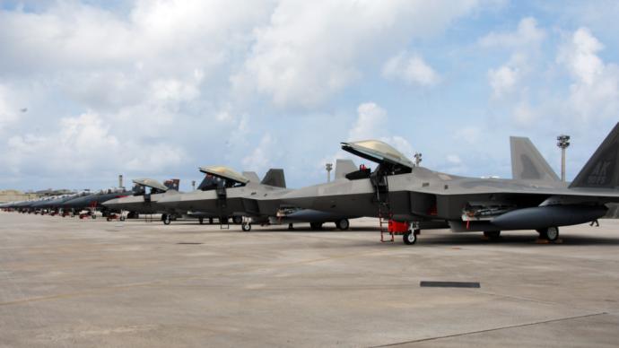 兵韜志略 美在關島部署26架隱身戰機,尋求大國對抗新模式