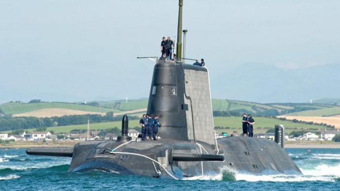 半島局勢敏感之際,英國核潛艇停靠韓國釜山港