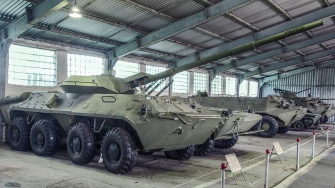 講武談兵 從中俄聯合軍演看蘇/俄輪式突擊車曲折發展