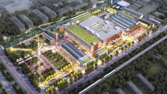 勢起南部科創中心,萬科更新老廠房打造產業園樣本