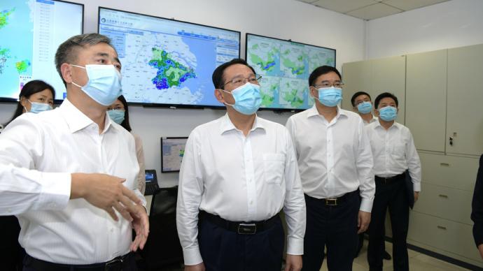 更加主動服務國家戰略支持地方發展,李強調研太湖局海事局