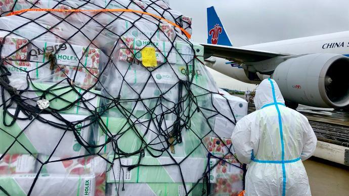 七夕臨近,八月以來南航物流在華東地區進出港鮮花逾100噸