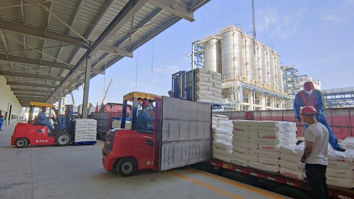 我國首個自主知識產權乙烷制乙烯項目首批聚乙烯產品供應市場