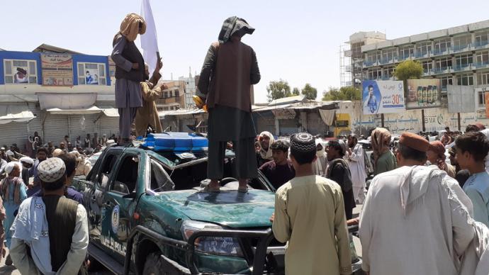 早安·世界 塔利班宣布攻占阿富汗第二大和第三大城市