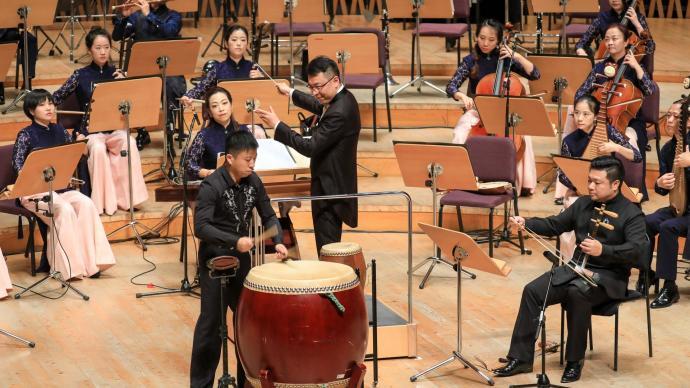 """上海民族樂團異""""響""""天開,帶領觀眾走進打擊樂的世界"""