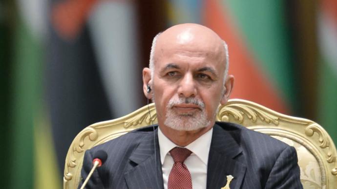 外媒:阿富汗總統加尼同意辭職,有消息稱其已離開阿富汗