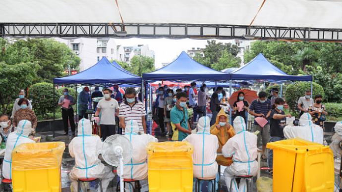揚州邗江區16日將開展主城區重點區域核酸檢測