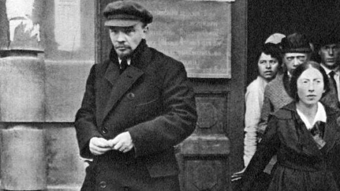 """刺殺列寧事件,""""被陰謀的子彈所打傷的列寧喚醒了我們大家"""""""