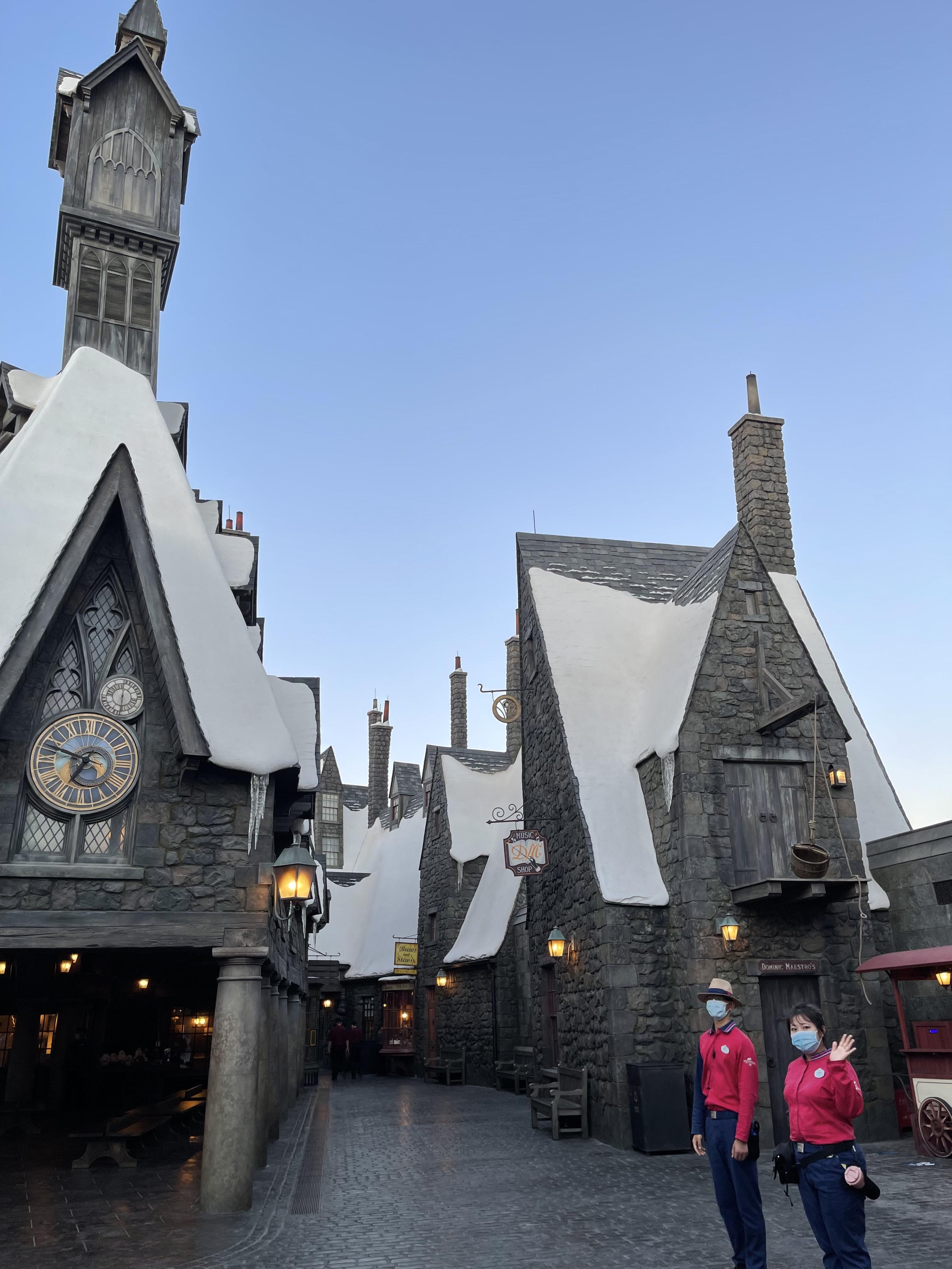 哈利·波特的魔法世界主题景区。