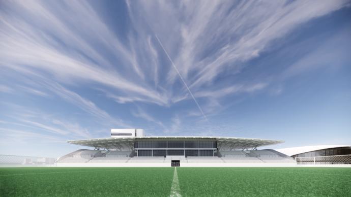 臨港新片區構建產城融合的國際社區,配套超7萬平米足球基地