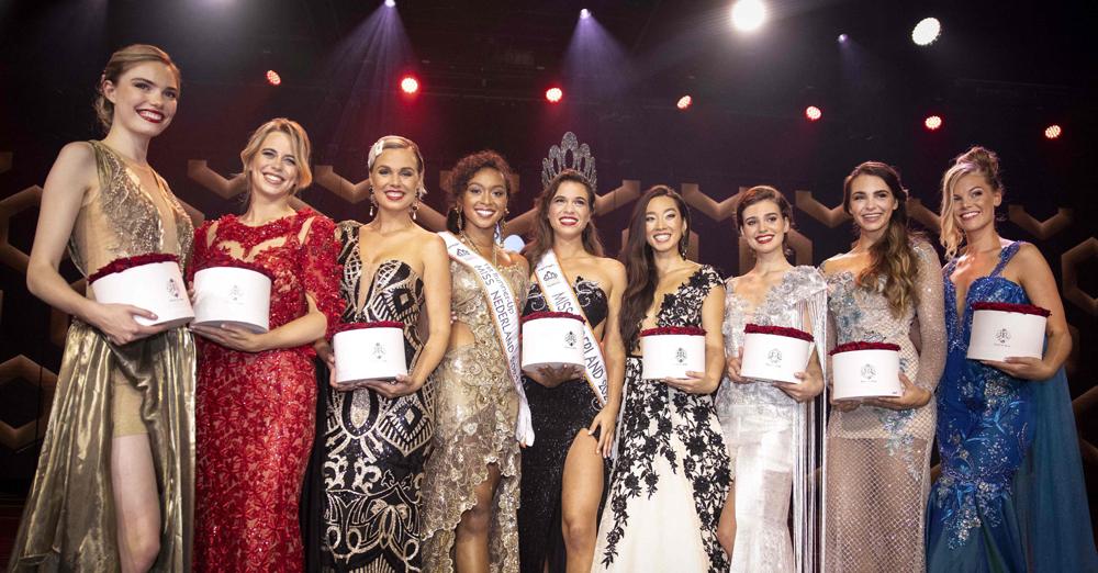 """當地時間2021年8月29日,荷蘭希爾弗瑟姆,當地舉行""""荷蘭小姐""""選美大賽,Julia Sinning獲得冠軍。"""