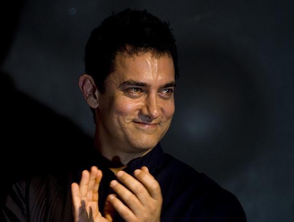 曾出演《三傻大鬧寶萊塢》、《摔跤吧!爸爸》等影片的著名穆斯林演員Aamir Khan。
