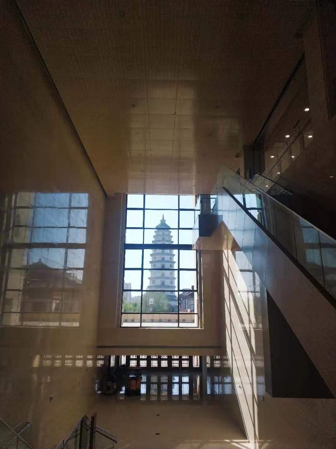 定州博物馆借景设计