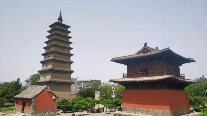 �h�w京文旅三城�⑥|正定:露天的古№建博物�^