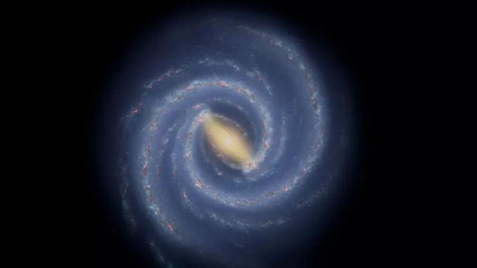 "NASA新發現:銀河系的一條手臂""斷了""?"