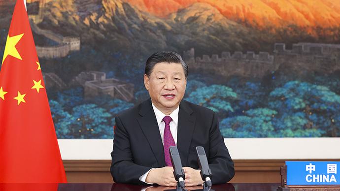 """习近平""""云外交""""纵论人类命运共同体"""