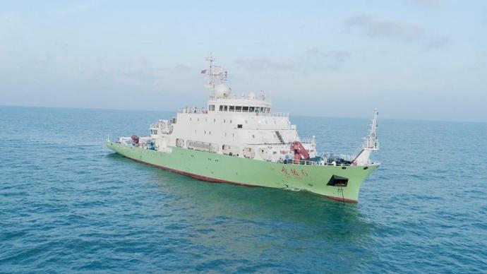 """海洋科考重器""""实验6""""科考船首航,为重大科学问题提供观测"""