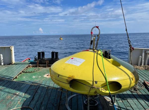 用于海试的水下直升机 图片来源:浙江大学