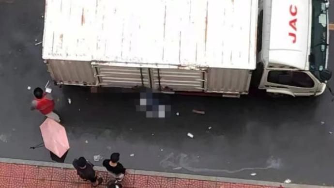 对外经贸大学一研究生在校园内被快递车碾压身亡,警方介入