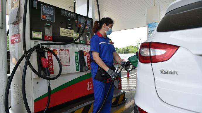 國內油價年內第11次上調,加滿一箱將多花5.5元