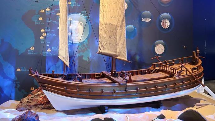 """人海之間︱""""無釘之船"""":最早往返于阿拉伯海與南海的海舶"""