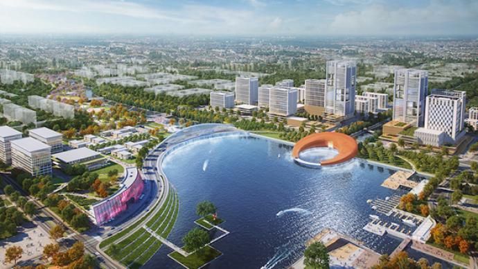打造虹桥国际开放枢纽核心功能承载区,闵行以两大区域为重点