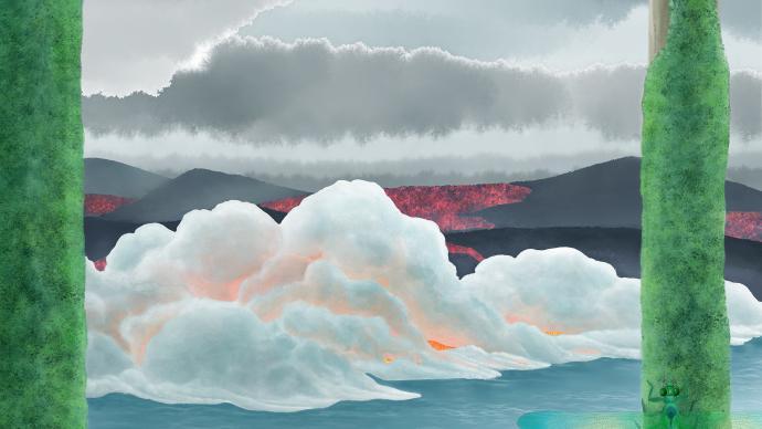 史上最大物种灭绝罪魁祸首找到了:火山二氧化碳,海水被酸化