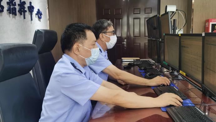 一外轮为换取准确船期跳港航行,被上海洋山边检站处罚