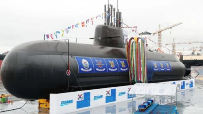 世界第八!韩军宣布潜艇首次成功试射潜射导弹