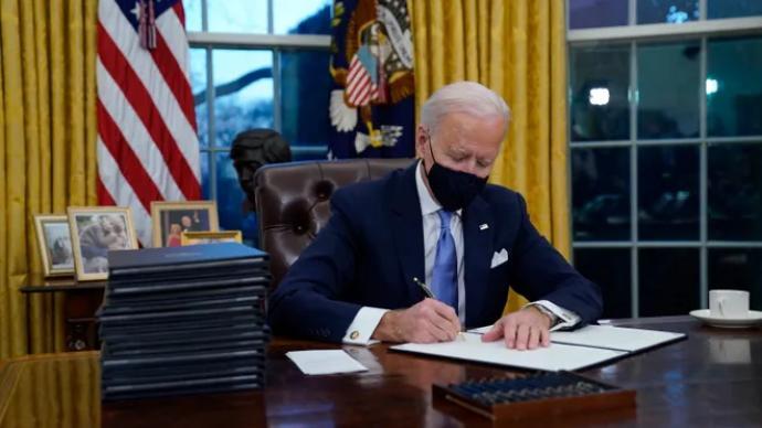 """拜登簽署行政令,要求解密""""9·11""""恐襲事件部分文件"""