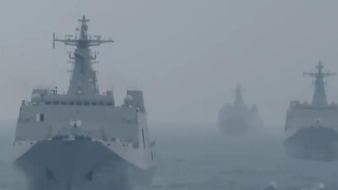 視頻丨解放軍在南海島礁開展奪控演練