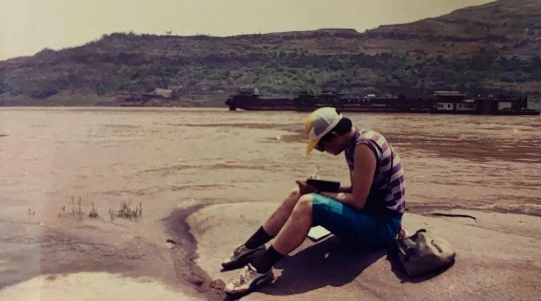 1992年考古隊員在三峽庫區做考古調查