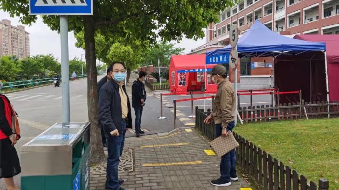 """位于抗疫最前沿的上海學校,如何在""""神經末梢""""筑""""安全門"""""""