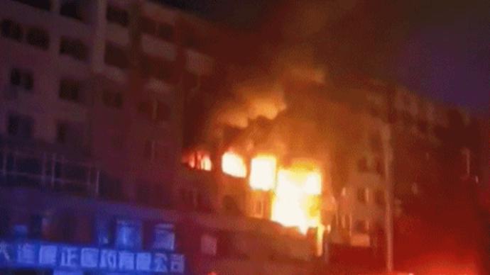 大連液化氣罐泄漏爆炸致8死5傷,目擊者:一公里外震感明顯