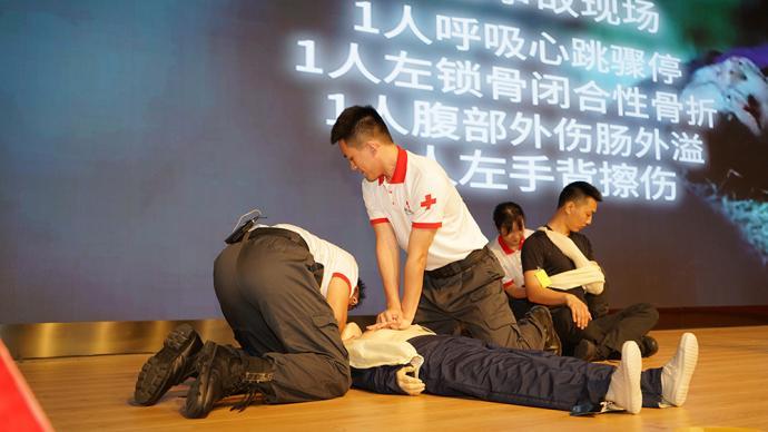 上海紅會:今年起對上海1萬名交通從業人員進行急救培訓