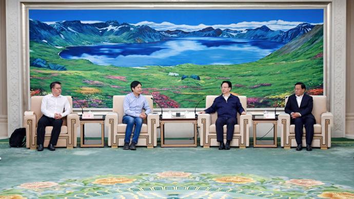 吉林省委書記會見雷軍,小米與一汽集團深度對接洽談合作事宜