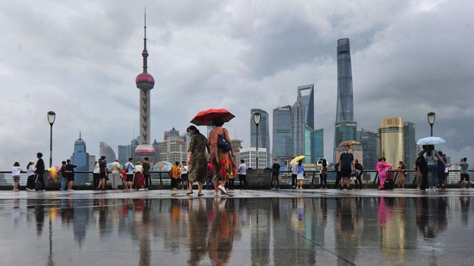 """臺風""""燦都""""強勢來襲,下周一周二本市將普遍出現大暴雨"""