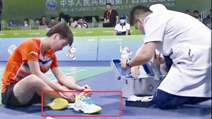 陳雨菲比賽時腳被李寧鞋劃傷:品牌緊急回應、疑似同款下架