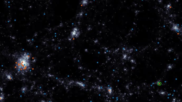"""""""淬滅""""超彌散星系:一種罕見矮星系的起源被確定"""