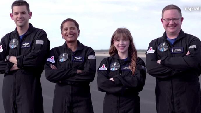 SpaceX本周将送首个全平民机组进太空