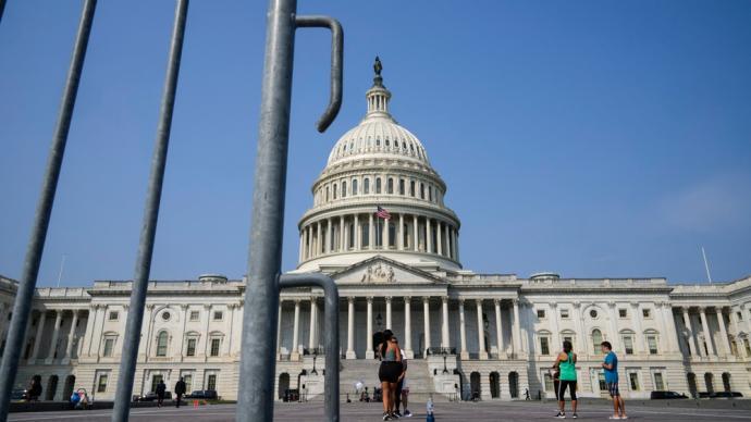 早安·世界|美國會大廈外將重設圍欄,防特朗普支持者再鬧事