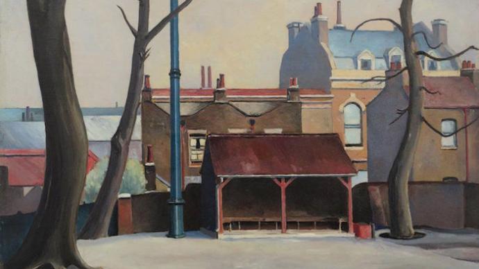 东伦敦艺术团体:看工人艺术家绘写的战时伦敦