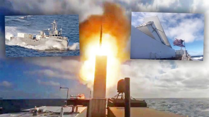 觀察|美軍無人船試驗集裝箱導彈,祭出海上游擊戰對付大國?