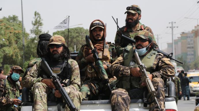 俄媒:塔利班正考慮組建阿富汗正規軍