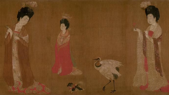 唐代�女性�R�K心�B:坦然接受、�z憾���n、痛苦而死、勇於赴死