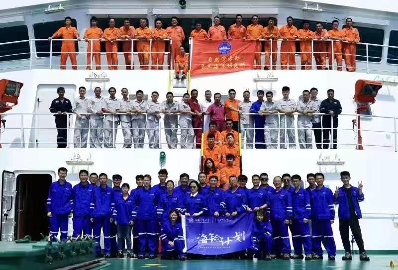 """""""海铃计划""""探路者项目团队近日完成各项预定海试任务并安全抵沪。本文图片均为 上海交通大学 供图"""