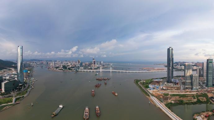 韓正會見賀一誠:推動橫琴粵澳深度合作區建設取得實質進展和顯著成效