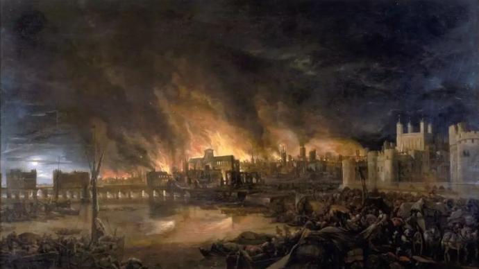吴其尧︱1666年的那场伦敦大火