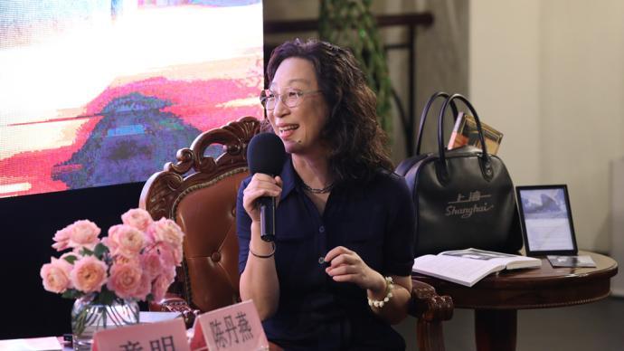 专访|陈丹燕:读者跟着这本书行游上海,让我受宠若惊