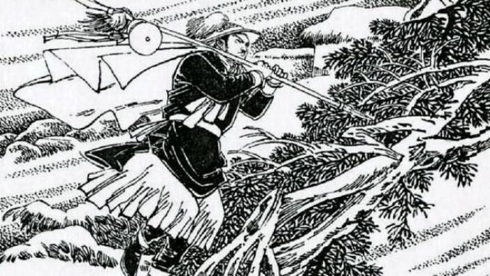 """《夜奔》:金圣叹为什么说林冲""""使人怕""""?"""